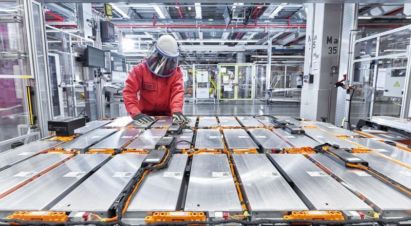 New battery factory Audi
