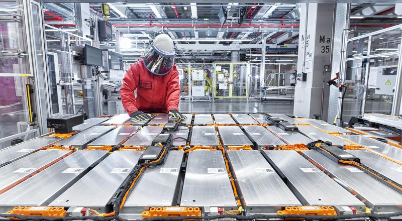 New battery factory Audi