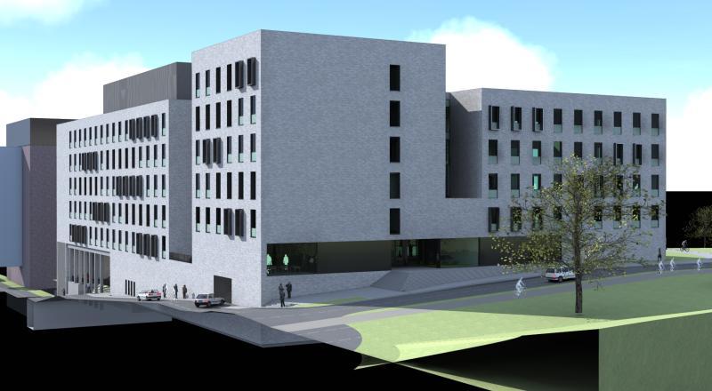 Nouvelle construction pour l'institut de recherche Rega