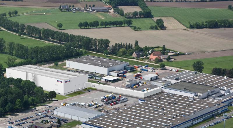 Factory expansion for DAF Trucks