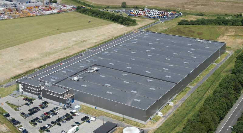 Distribution centre in Familleureux for Dow Chemical subsidiary