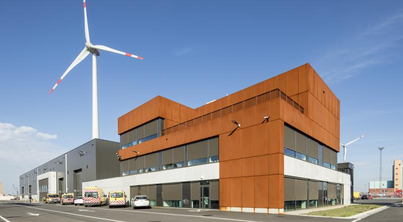 DBM project for the port of Antwerp
