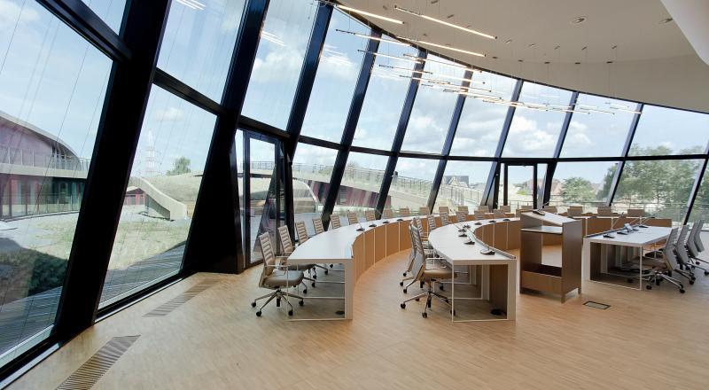 Un projet DBM pour un nouveau centre administratif