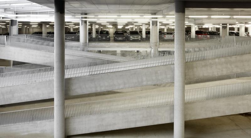 Construction of a car park for UZ Leuven