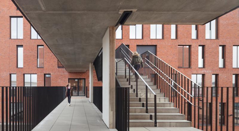 Campus scolaire de l'Institut technique libre Vrij Technisch Instituut