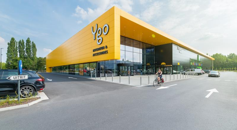 New construction YGO retail site
