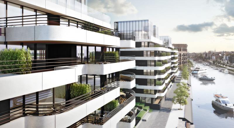 Construction of Zuidzicht residential complex