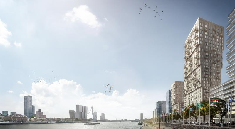 Cordeel bouwt aan de skyline van Rotterdam